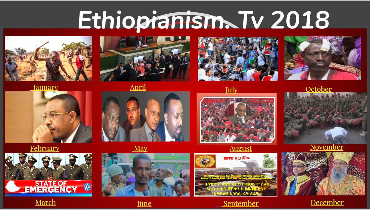 2018 Ethiopianism.tv Synopsis  News Analysis  ያዓመቱ የዜናዊች ንትርክ